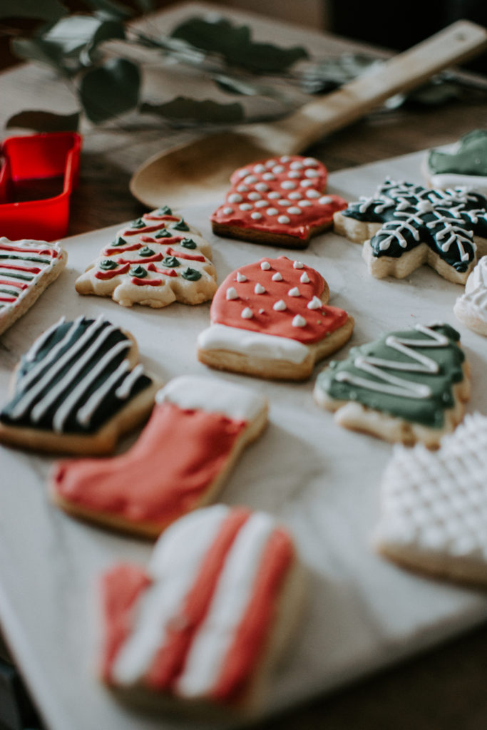 Christmas Cookie Frosting.The Best Sugar Cookie Frosting Recipe